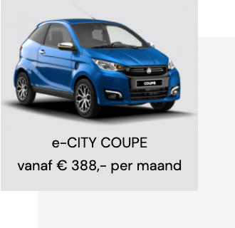 e-CITY COUPE